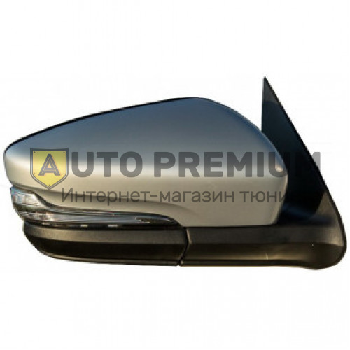 Боковые зеркала стиль Гранта с электроприводом, обогревом, повторителем в стиле лексус для Лада Нива 21214, Урбан