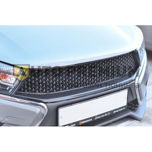 Решетка радиатора (ABS) LADA Vesta (Exclusive/Luxe) c 2015