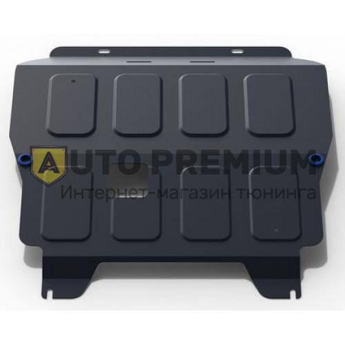 Защита «Rival» для картера и КПП Chevrolet Aveo T250 2008-2012. Артикул 111.1001.2